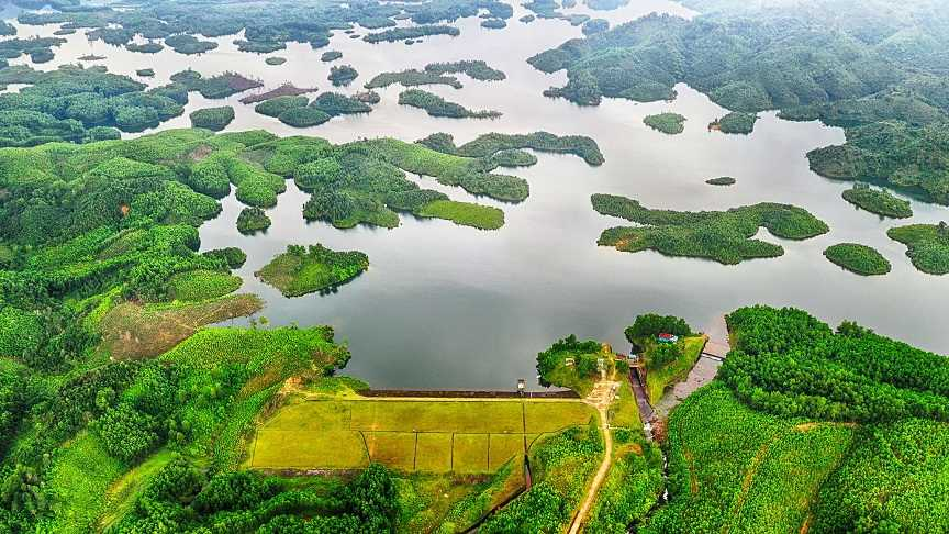 Hồ Trúc Bài Sơn điểm đến lý tưởng trong mùa hè